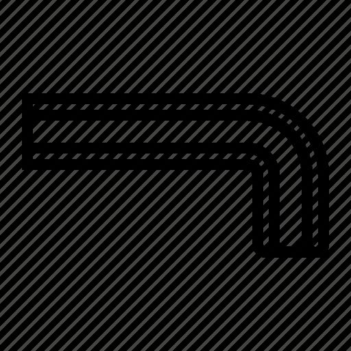 allen, hex, key, screw, tool icon