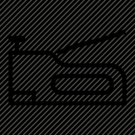 hand, stapler, tools icon