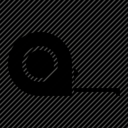 measuring, ruler, tape ruler, tool icon