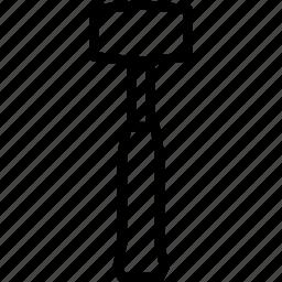 mallet, tools icon