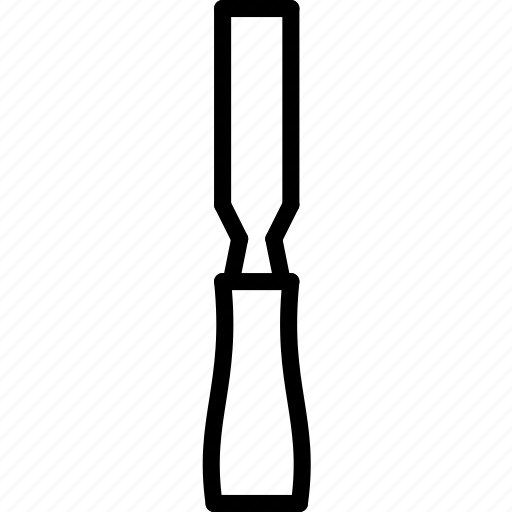 chisel, tools icon