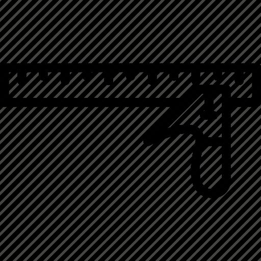 set, square, tools icon