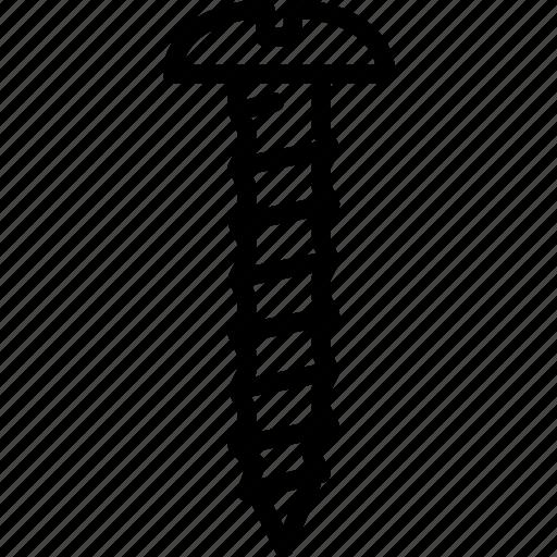 head, mirror, screw, tools icon