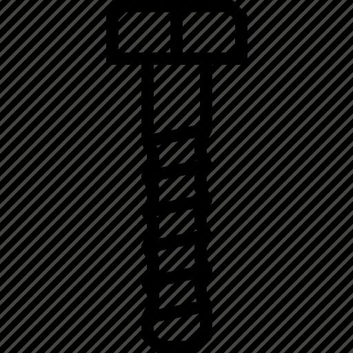 bolt, tools icon