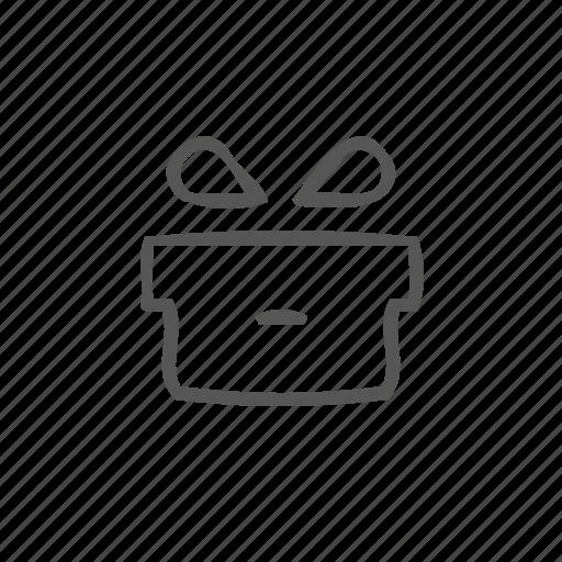 gift, gift box, help, present, presentation, surprise icon