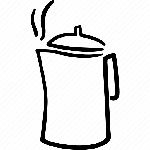 coffee, drink, fresh, hot, jug, pitcher, tea icon