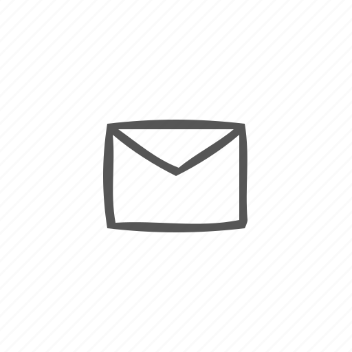 email, message, new mail, notification, unread mail icon