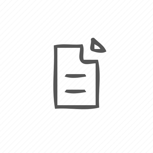 content, file, newspaper, notepad, word document icon