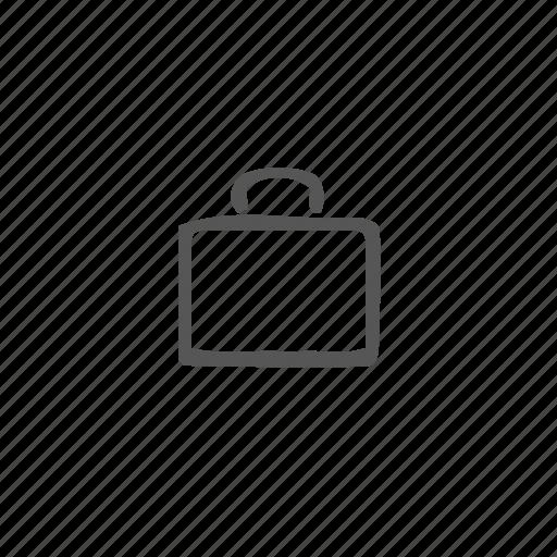 bag, baggage, breifcase, business, portfolio, suitcase, work icon