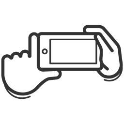 camera, device, gadget, gesture, mobile, smartphone, touchscreen icon