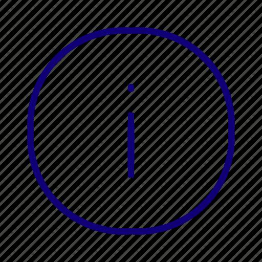 data, help, info, information, warning icon