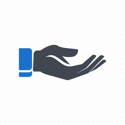 finger, gesture, hand, palm, touch icon