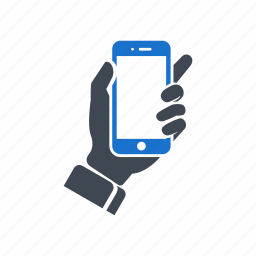 call, device, hand, handset, mobile, smartphone icon
