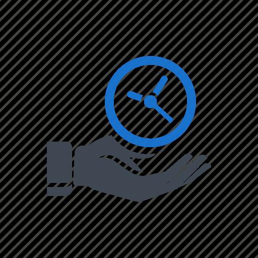 clock, event, hand, management, schedule icon