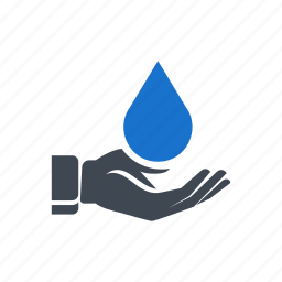 blood, donation, drop, hand, save water icon