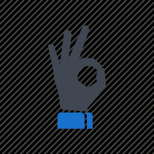 accept, best, finger, gesture, hand, ok icon