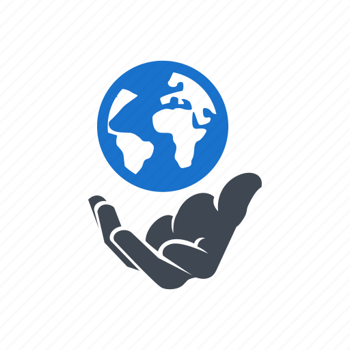 earth, global, market, planet, save earth icon