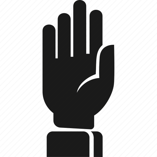 agree, fingers, hand, palm icon