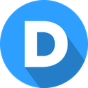 disqus, logo, social network icon