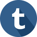 logo, social network, tumblr icon