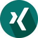 logo, social network, xing icon