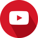 logo, social network, youtube icon