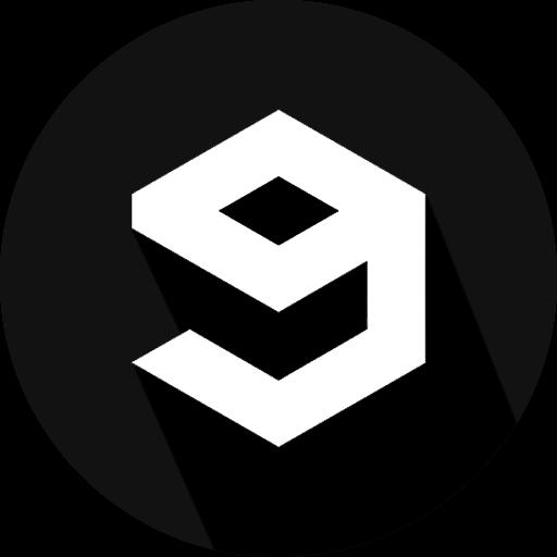 9gag, go fun yourself, logo, social network, why so serious icon