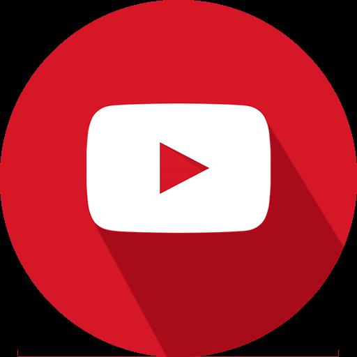 logo, social network, youtube icon