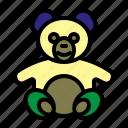 baby, bear, doll bear, kits icon