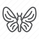 butterfly, fly, insect, nature, spring, wing icon