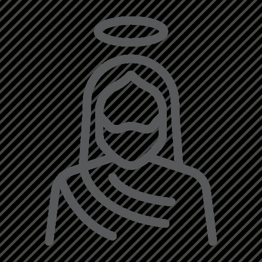 Christ, christian, god, holy, jesus, religion icon - Download on Iconfinder