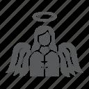 angel, christmas, heaven, religion, wing