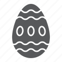 christian, easter, egg, food, holiday, spring icon