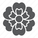 blossom, floral, flower, natural, plant, spring icon