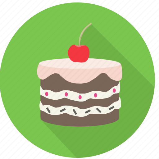 bake, bithday, cake, dessert, food, gift, sweet icon
