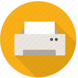 color, device, document, hardware, photo, print, printer, publish icon