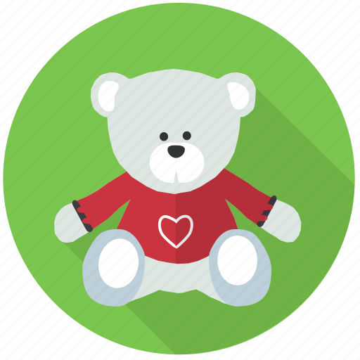 bear, charity, gift, love, present, teddy, toy icon