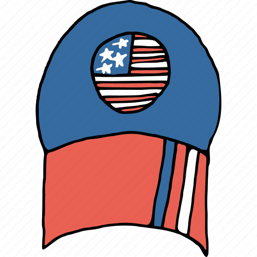 america, cap, celebrations, dress, independence day, july 4th, wear icon