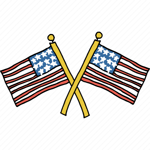 america, american, celebrations, flag, independence day, july 4th, patriotism icon