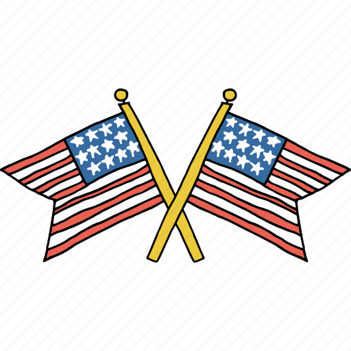 america, american, celebrations, flag, independence day, july 4th, united states icon
