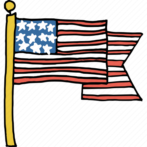 america, american, celebrations, flag, july 4th, patriotism, united states icon