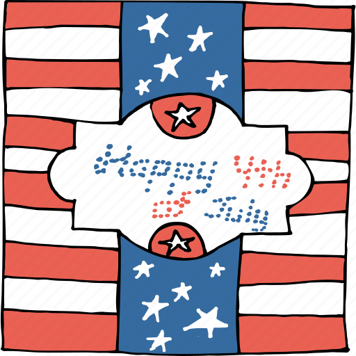 america, american, greetings, independence day, july 4th, united states, wishes icon