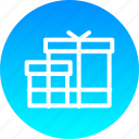 birthday, christmas, gift, new, present, ramzan, year icon