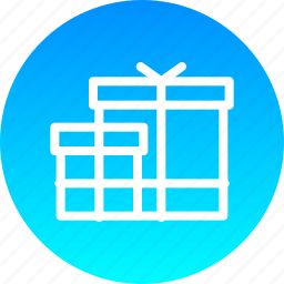 birthday, christmas, gift, new, present, ramzan, year icon