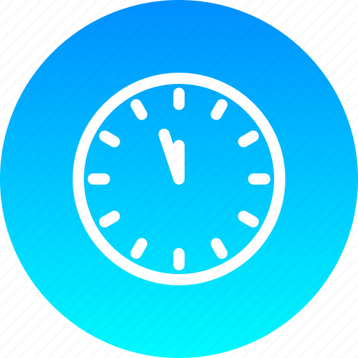clock, countdown, new, noon, time, twelve, year icon