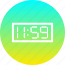clock, countdown, new, night, time, twelve, year icon