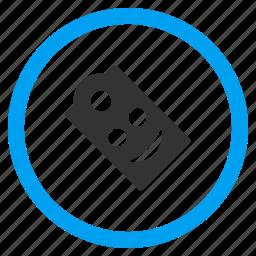 glad smiley, happy, label, positive emotion, regard, smile, tag icon