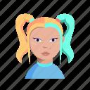 character, female, girl, woman
