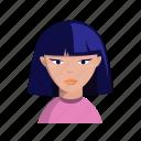 avatar, bob cut, female, woman