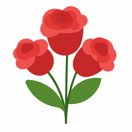 floral, flowers, holidays, plant icon